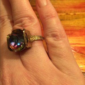 Jewelry - Vintage Rainbow Stone Ring